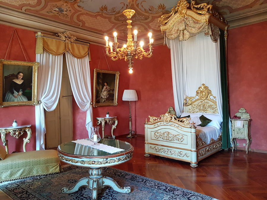 Suites and Room at Castello di Novello